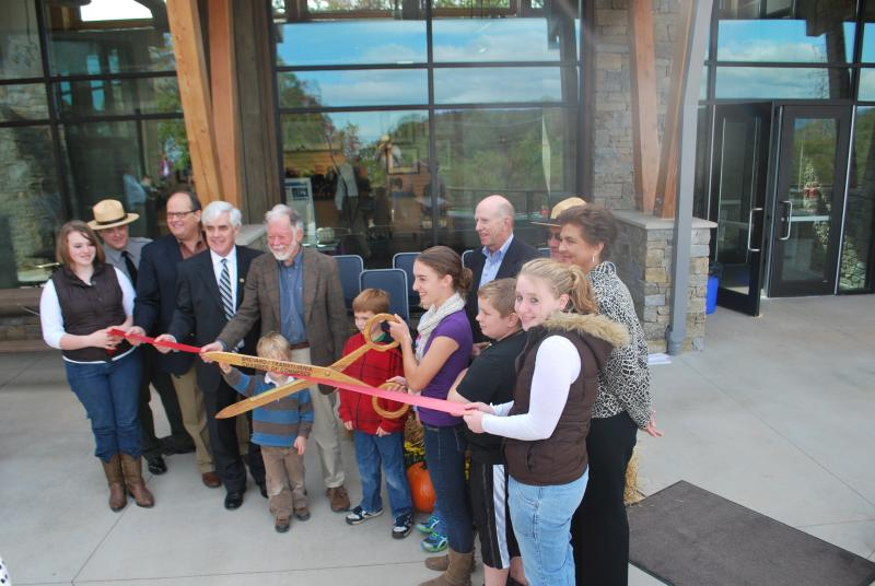 gorges state park ribbon cutting