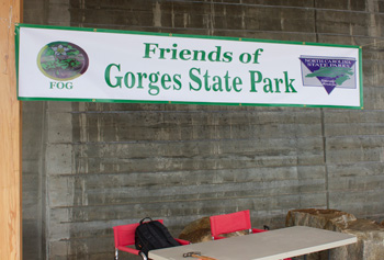 gorges state park events