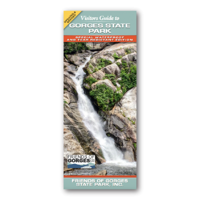 Gorges State Park Visitors Guide Map